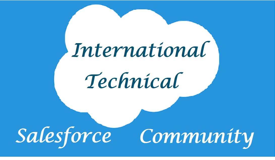 Salesforce International Technical Community
