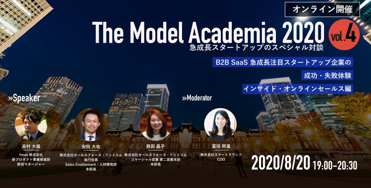 The Model Academia 2020 vol.4 インサイド・オンラインセールス編