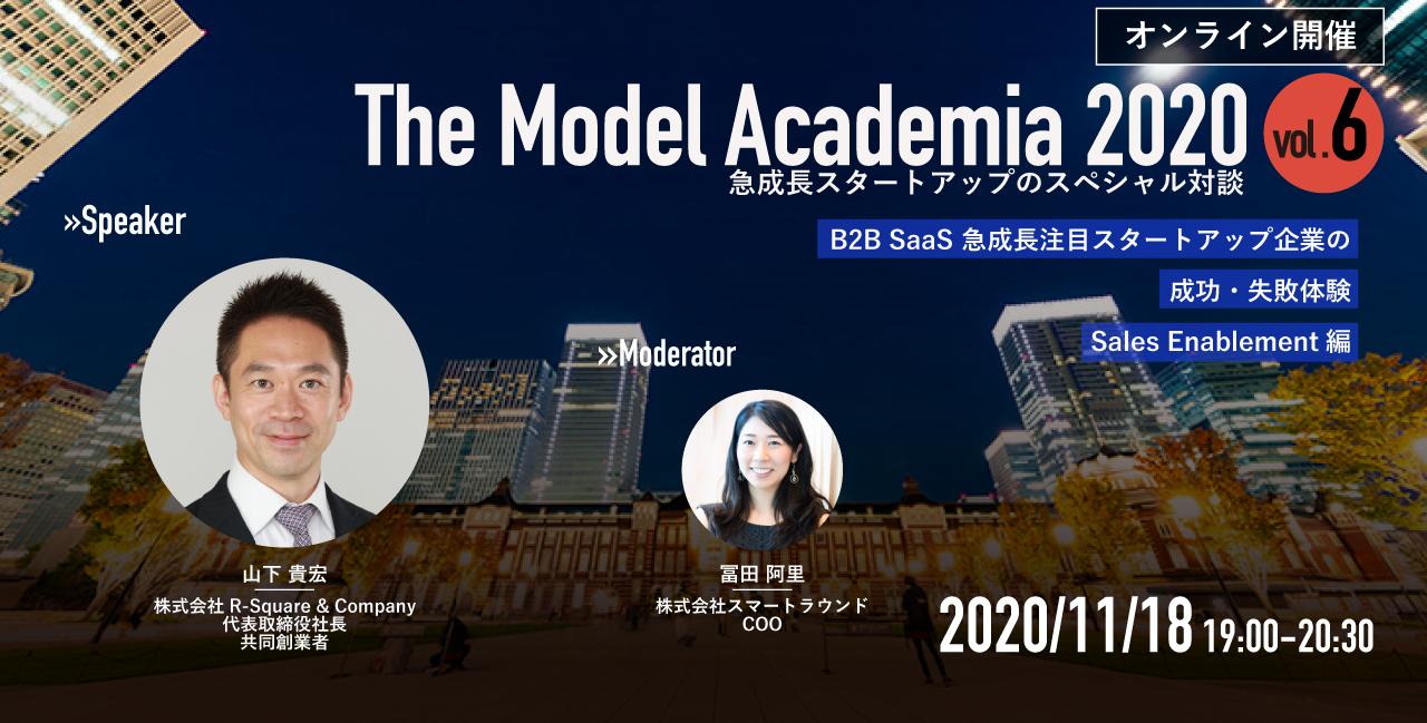 The Model Academia 2020 vol.6 Sales Enablement編